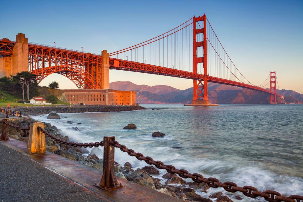 پل گلدن گیت،سانفرانسیسکو