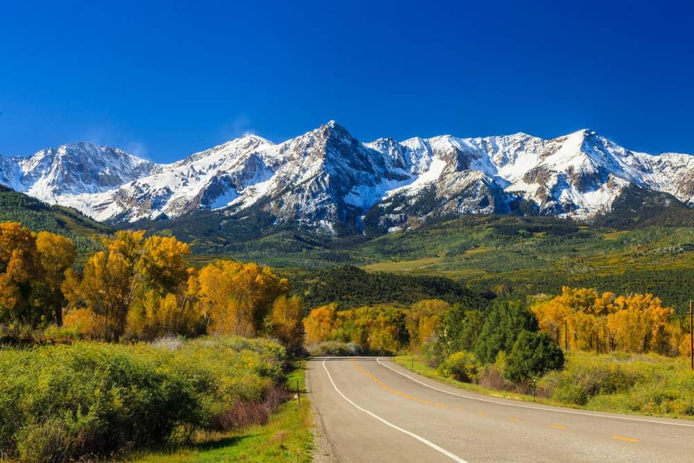 کوههای راکی،بیریتیش کلمبیا و نیو مکزیکو