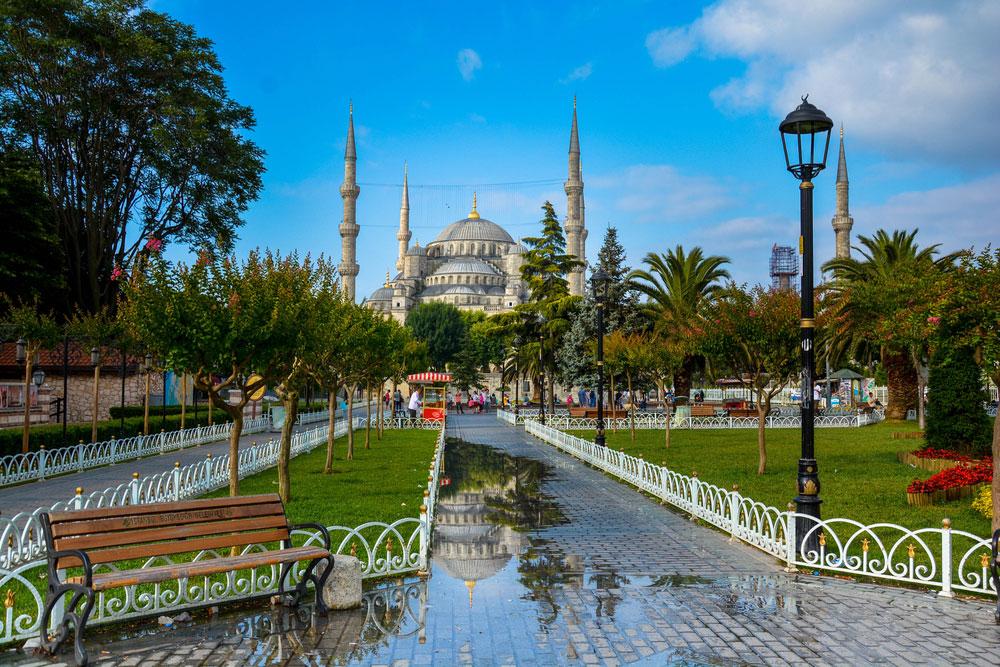 مسجد سلطان احمد در ستانبول،ترکیه