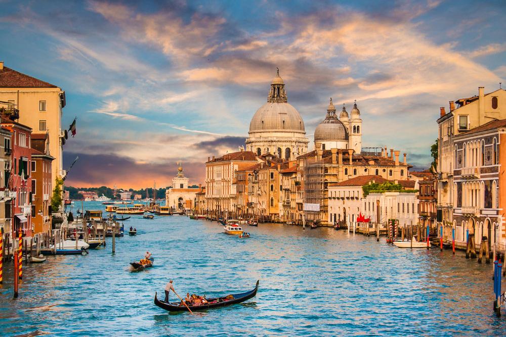 کانال بزرگ ونیز،ایتالیا