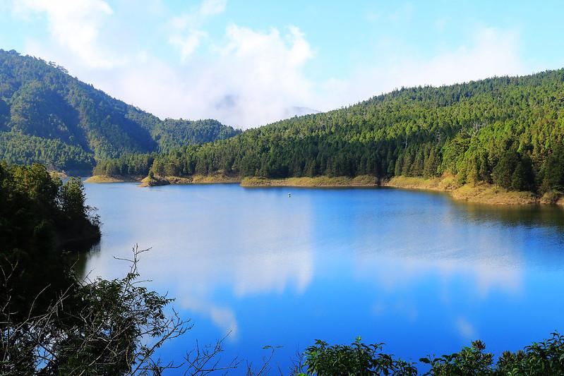 مسیر دریاچه ییلان Taipingshan Cuifeng
