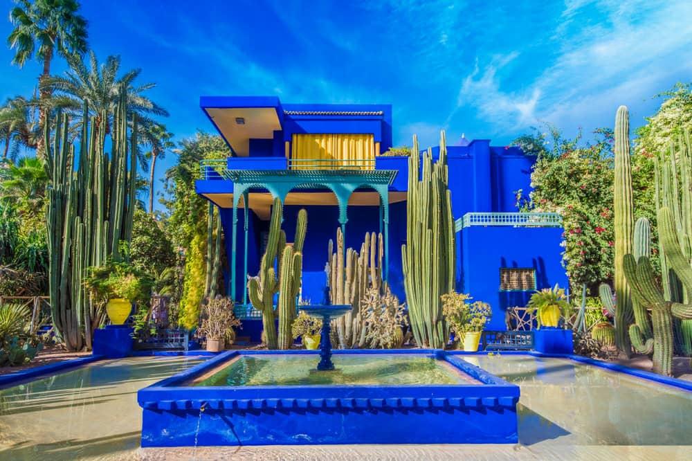 باغ ماژورل،مراکش