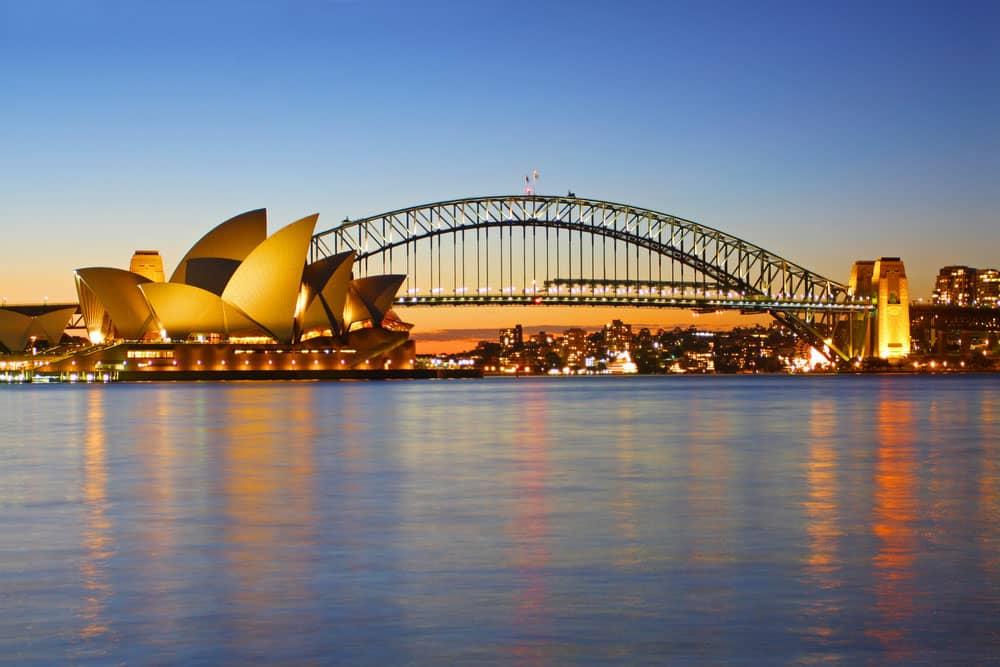 پل بندرگاه سیدنی،استرالیا