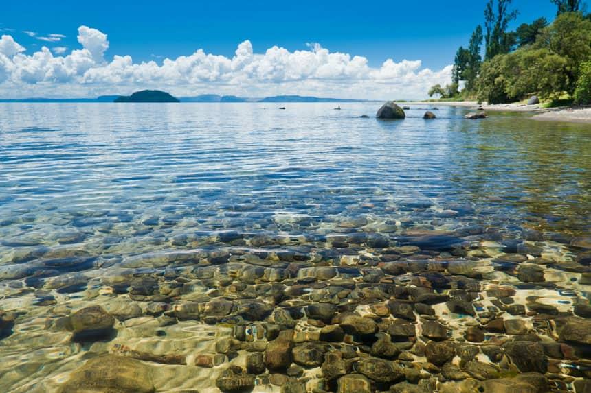 دریاچه تابو،نیوزلند