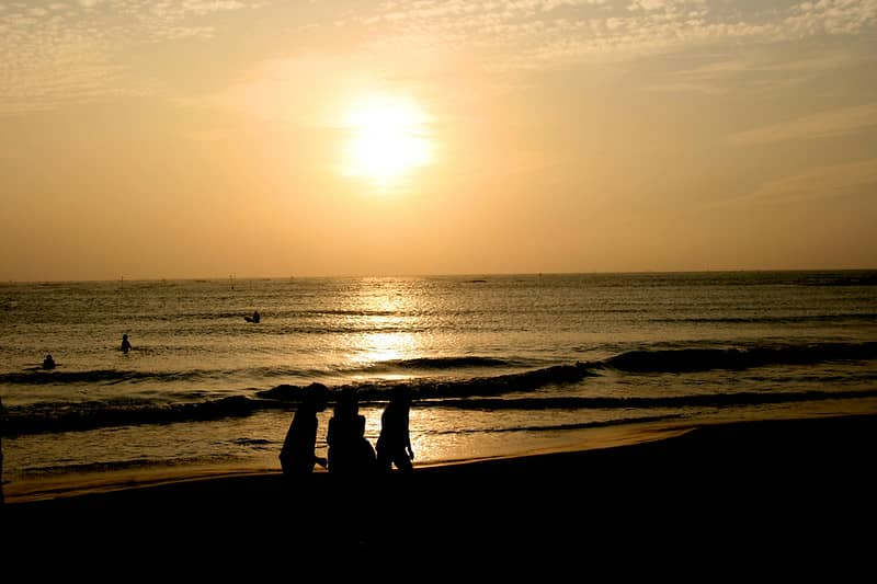 پارک ساحلی Tainan Anping Qiaotou
