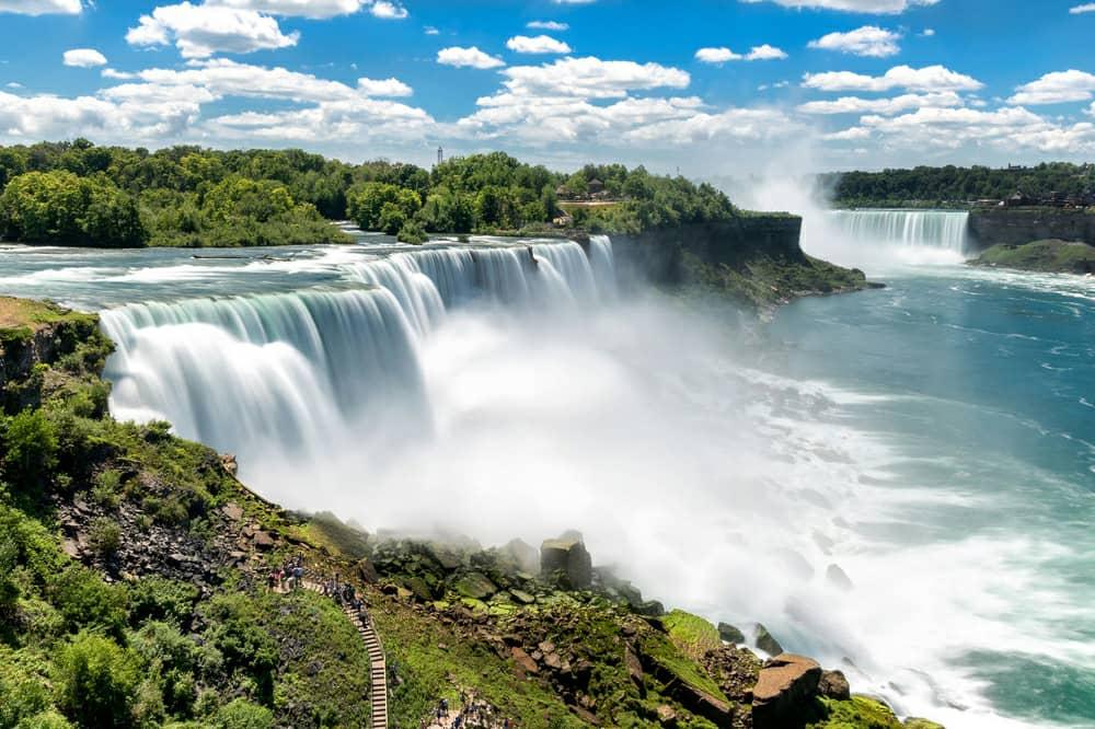 آبشارهای نیاگارا،نیویورک و انتاریو